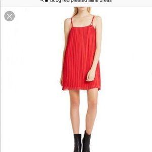 BCBG Pleated Shift Dress